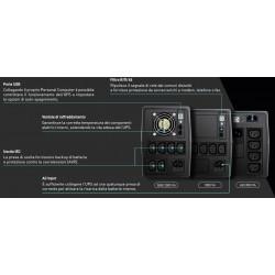 GTEC UPS Pulse 650 Gruppo...