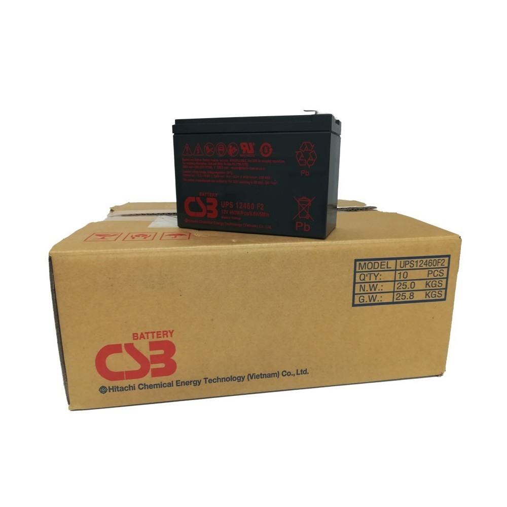 PACK 10 - CSB Batteria Al Piombo ricaricabile 12V 9Ah