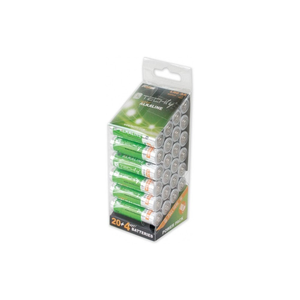 Multipack 24 Batterie High Power Stilo AA Alcaline LR06 1,5V