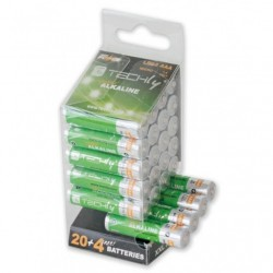 Multipack 24 Batterie High Power Stilo AAA Alcaline LR03 1,5V