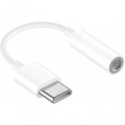 Cavo da USB-C Maschio a Audio 3.5 mm Femmina 12 cm Bianco