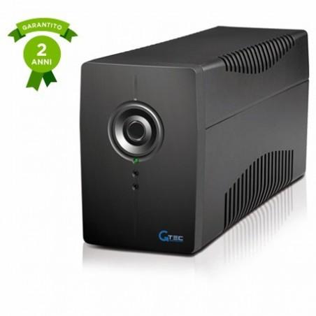 Gtec PC615N-650 Gruppo di Continuità - UPS Line Interactive 650VA/360W