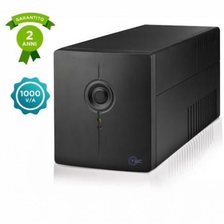 Gtec PC615N-1000 - Gruppo di Continuità - UPS Line Interactive 1000VA/600W